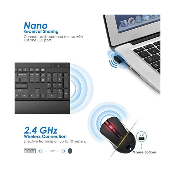 Victsing Wireless Keyboard