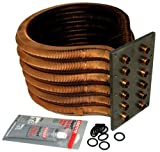 Pentair 473710 Tube Sheet Coil Assembly Replacement Kit MasterTemp HD Series Pool and Spa Heater