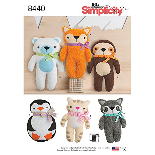 Simplicity Creative Patterns US8440OS Sewing Pattern Crafts, One Size