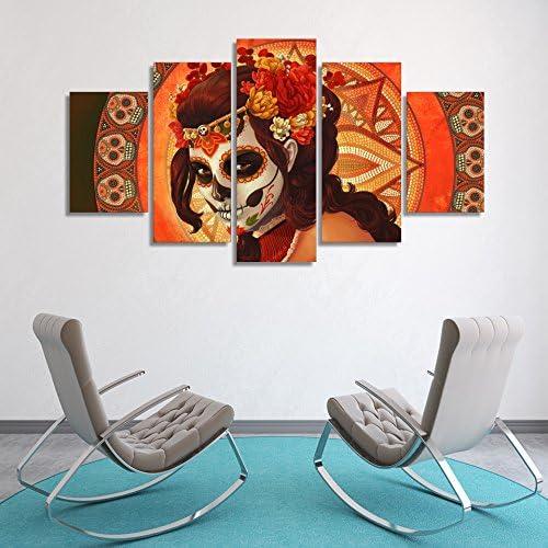 MCZQT canvas afdrukken ingelijst gedrukt canvas woonkamer 5 panelen schilderij muurkunst modulaire poster wooncultuur afbeeldingen 20x35cmx2 20x45cmx2 20x55cmx1