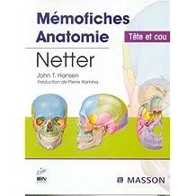 MEMOFICHES D ANATOMIE TETE COU