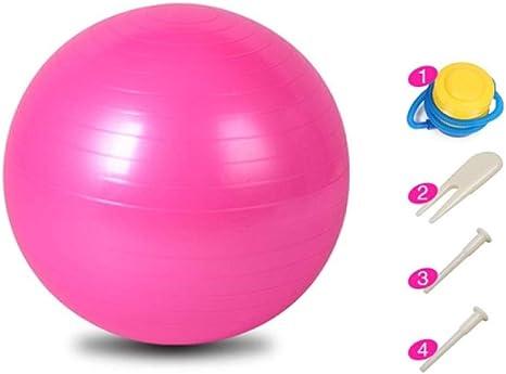 Ssery Balón de Yoga de 65 cm, Pelota de Ejercicio para Gimnasio ...