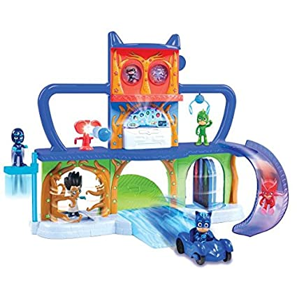 PJ Masks Headquarters Playset with Catboy Figure
