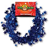 Axiom International Wire Garland, Blue Stars, 25-Pack