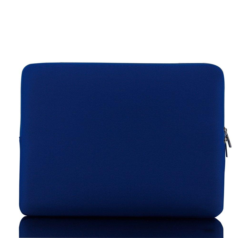 KKmoon Zipper Bolsa de Manga Suave Case15-pulgadas 15.6 para MacBook Pro Retina Ultrabook Port/átil