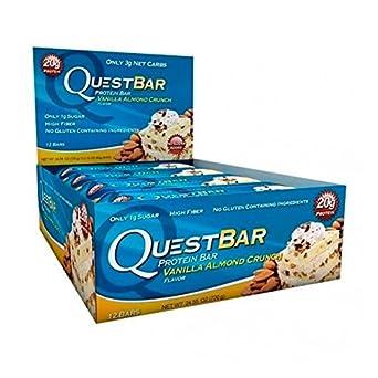 Quest Nutrition Quest Bar Protein - 12 x 60 gr Chocolate Brownie: Amazon.es: Alimentación y bebidas