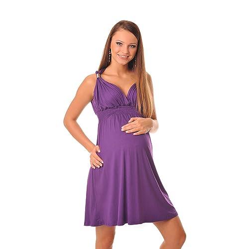 Purpless Maternity Maternidad Vestido Para el Verano 8423
