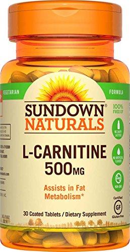 (Sundown Naturals L-Carnitine 500 mg, 30 Tablets)