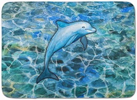 Caroline s Treasures Dolphin Floor Mat, 19 H x 27 W, Multicolor