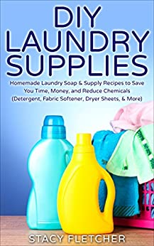DIY Laundry Supplies Chemicals Detergent ebook product image