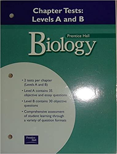Biology Chapter Tests Levels A And B Prentice Hall