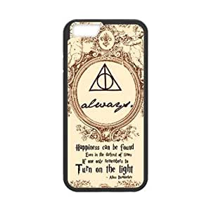 """Custom Case for iPhone 6 4.7"""" w/ Harry Potter Dealthy Hallows image at Hmh-xase (style 10)"""