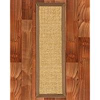 NaturalAreaRugs Sumatra 100-Percent Sisal Carpet Stair Treads Rug Set, 9-Inch by 29-Inch, Set of 13