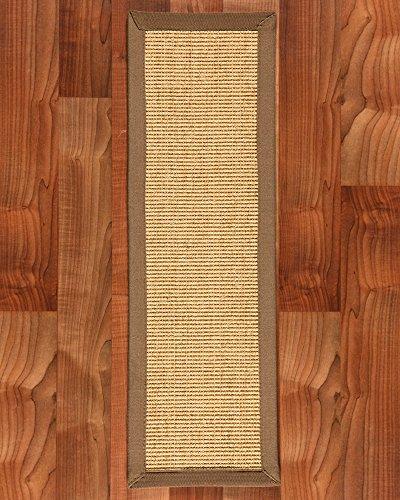 NaturalAreaRugs Sumatra 100-Percent Sisal Carpet Stair Treads Rug Set, 9-Inch by 29-Inch, Set of 13 by NaturalAreaRugs
