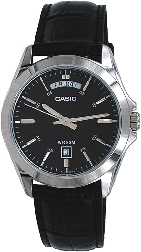 Casio Classic Black Watch MTP1370L-1A