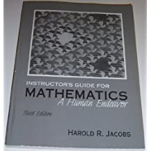 Instructor's Guide to Accompany Mathematics: A Human Endeavor