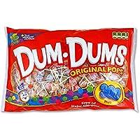 DUM DUMS Lollipops, mezcla de sabores variados, bolsa de 300 cuentas