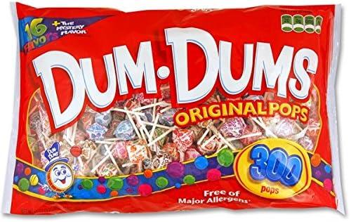 Spangler Dum Dum Pops Candy, 300-Count (Pack of 8): Amazon.es: Alimentación y bebidas