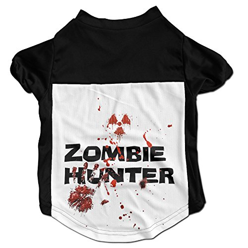Zombie Classy Puppy Dog Clothes Sweaters Shirt Hoodie Coats (Knife Throwing Costume)