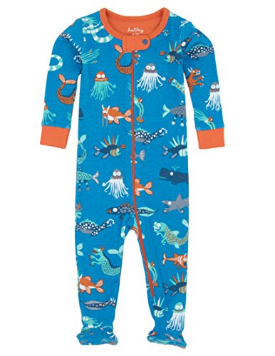 Hatley Baby Boys' Footed Coverall, Sea Creatures, 18-24 Months ()