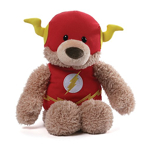 GUND DC Comics Flash Blaze Teddy Bear Stuffed Animal Plush, Red, 12