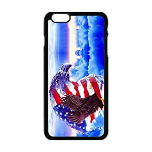 American Flag and Eagle Fashion Cell Phone Case For Iphone 6 Plaus