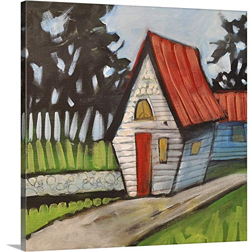 GREATBIGCANVAS Gallery-Wrapped Canvas Entitled Stonewall Cottage by Tim Nyberg 10