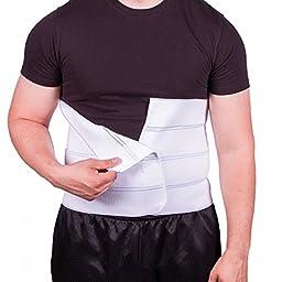 BraceAbility Plus Size Bariatric Abdominal Binder - Fits 55\