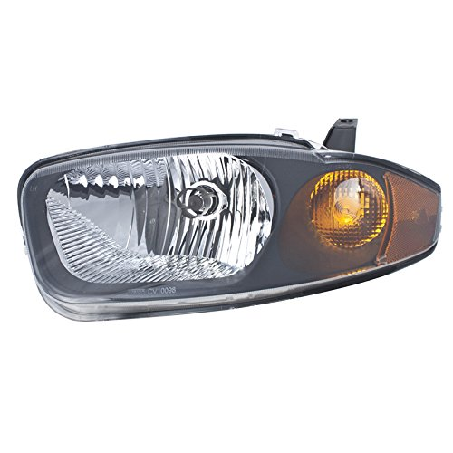 Carpartsdepot Front Bumper Head Light Lamp Left Hand Side Fit 03 05 Chevy Cavalier Gm2502221