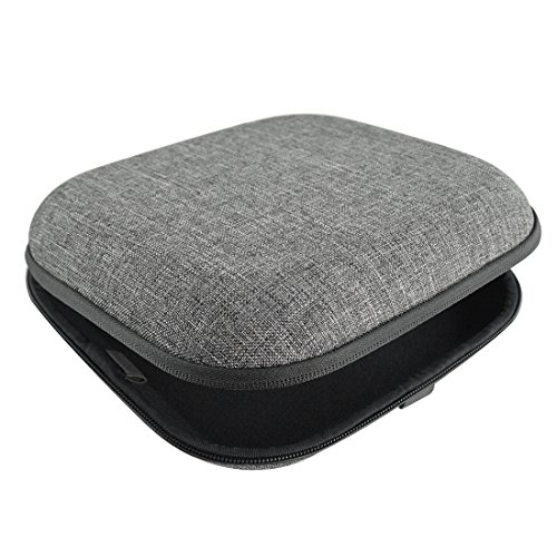 Headphones Case for AKG K545, K619, K67, K167, ATH-M50, M50x, ANC29, ESW10, WS77, SONY MDR-XB950BT, MDR-XB920, MDR-XB900 and More / Hard Carrying Case / Headset Travel Bag (Gray)