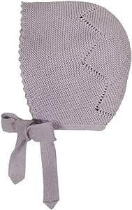 بونيه اي بومبون قبعة للاطفال ، M ، ارجواني