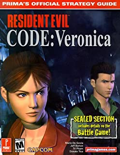 Resident Evil Code Veronica Primas Official Strategy Guide