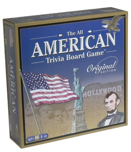 All American Trivia Board Game (Ps2 Chess)
