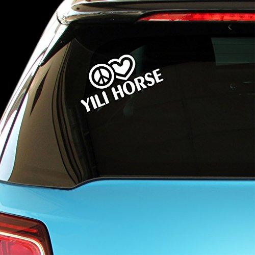 peace-love-yili-horse-car-laptop-wall-sticker