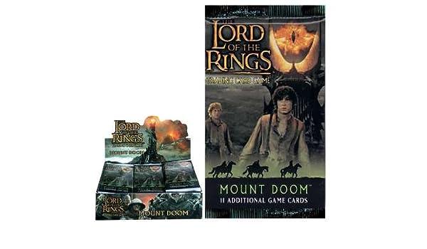 Decipher El Señor de los anillos - Mount Doom, Booster ...