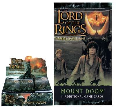 Decipher The Lord of the Rings TCG Mount Doom Booster Pack