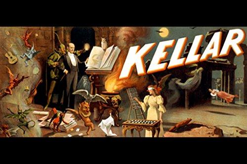 Kellar - Menagerie of Tricks, by Strobridge Co, 24x36 Paper Giclée