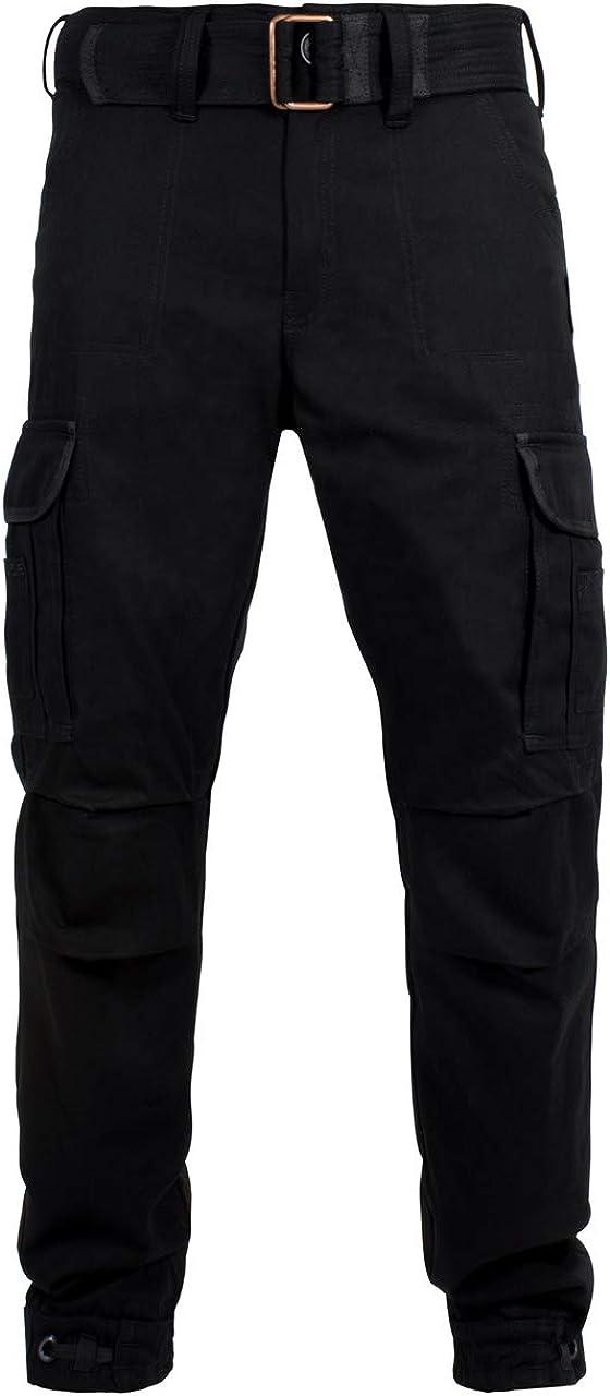 Motorrad Cargo Hose Motorradhose mit Kevlar John Doe Regular Cargo Einsetzbare Protektoren Hose mit Seitentaschen Atmungsaktiv