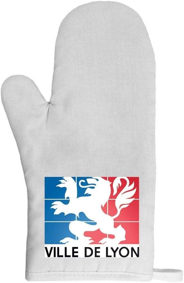 Mygoodprice Gant de cuisine manique lyon drapeau France