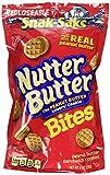 Nabisco, Mini Nutter Butter, Bite Size Snak-Saks, 8oz Bag (Pack of 3)