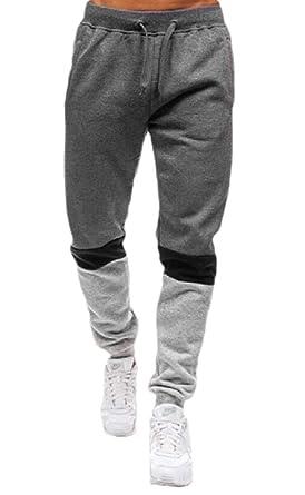 securiuu - Pantalones de chándal para Hombre Gris Gris Oscuro 24 ...