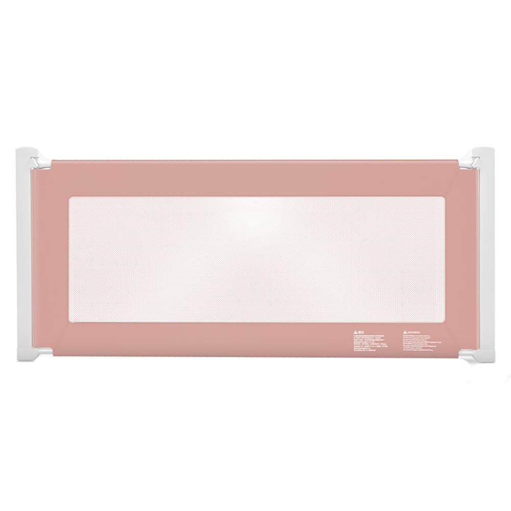 ベッドフェンス, ポータブルベビーベッドレール、子供の安全ベビーベッドベビーベッド用保護ガード、2色オプション - 93cmの高さ (色 : Pink, サイズ さいず : 200cm) 200cm Pink B07L78HS4X
