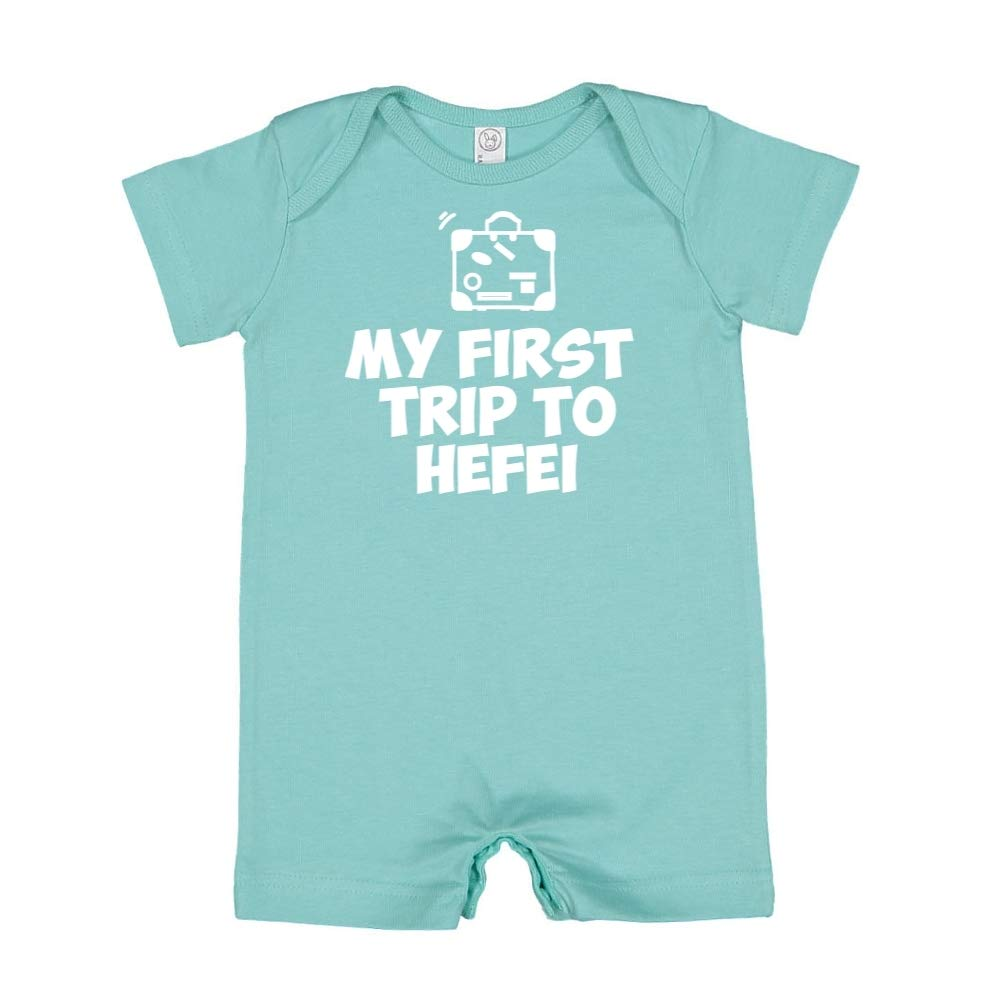 Baby Romper Mashed Clothing My First Trip to Hefei