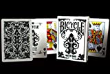 Bicycle Nautic Back Playing Cards in White