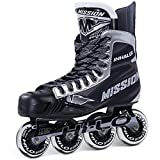 Bauer Mission Junior RH Inhaler Nls 06 Hockey Skate, Black, E 1.0