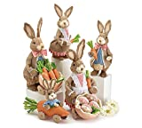 Burton & Burton Sisal Sunday Bunny Family Set Childrens Party Activities