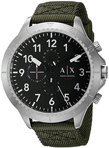 Armani Exchange Men's AX1759 Green  - New Collection Exchange Armani