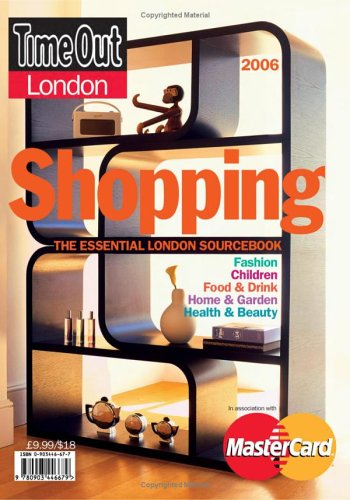 Time Out London Shopping: London's Best Shops and Services (Time Out Guides) ebook