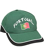 Supportershop Portugal Fanscap donkergroen/zwart verstelbaar