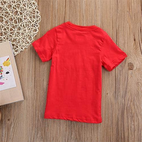 Ropa Bebe Ni/ñA Verano Camiseta De Dibujos Animados para Ni/ñOs Ropa De Manga Corta Camiseta De Algod/óN Camisa Blusa Villano De Chocolate M Letra Camiseta Nueva